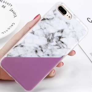 SOFT SILICONE MARBLE IPHONE 7 8 X XS PLUS CASE
